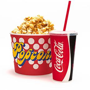 Popcorn Menü König-Pilsener-ARENA