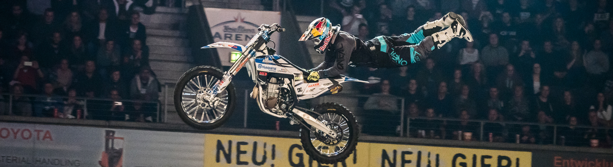 Luc Ackermann bei der Night of the Jumps