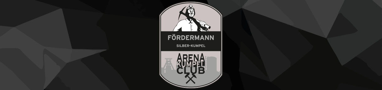 Unsere Fördermanner im ARENA Kumpel Club
