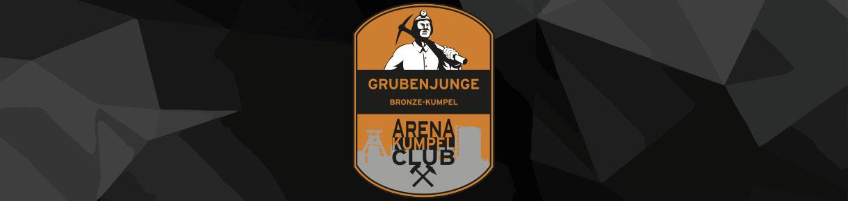 Unsere Grubenjungen im ARENA Kumpel Club