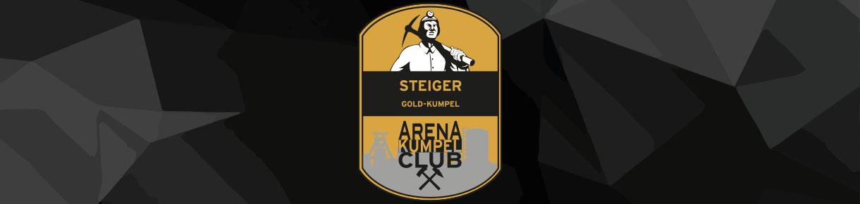 Unsere Steiger im ARENA Kumpel Club