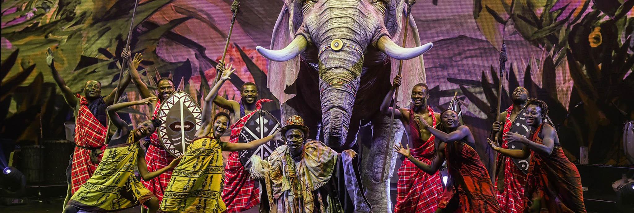 Afrika! Afrika! in der König-Pilsener-ARENA