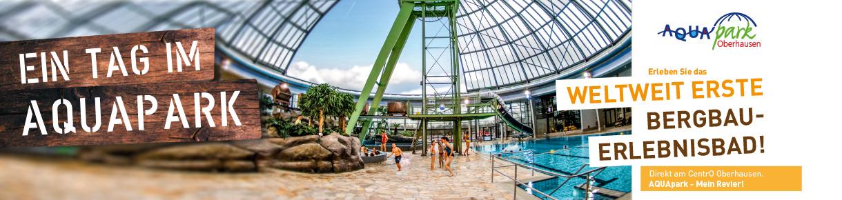 Ihr Tag in Oberhausen - Erleben Sie den AQUApark Oberhausen