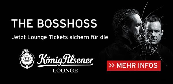 The BossHoss in der König Pilsener-LOUNGE genießen!