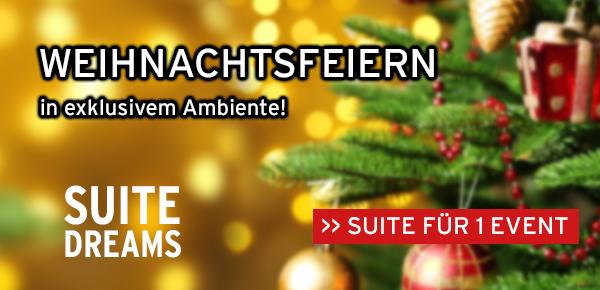 Ihre Weihnachtsfeiern in den Entertainment Suiten der König-Pilsener-ARENA
