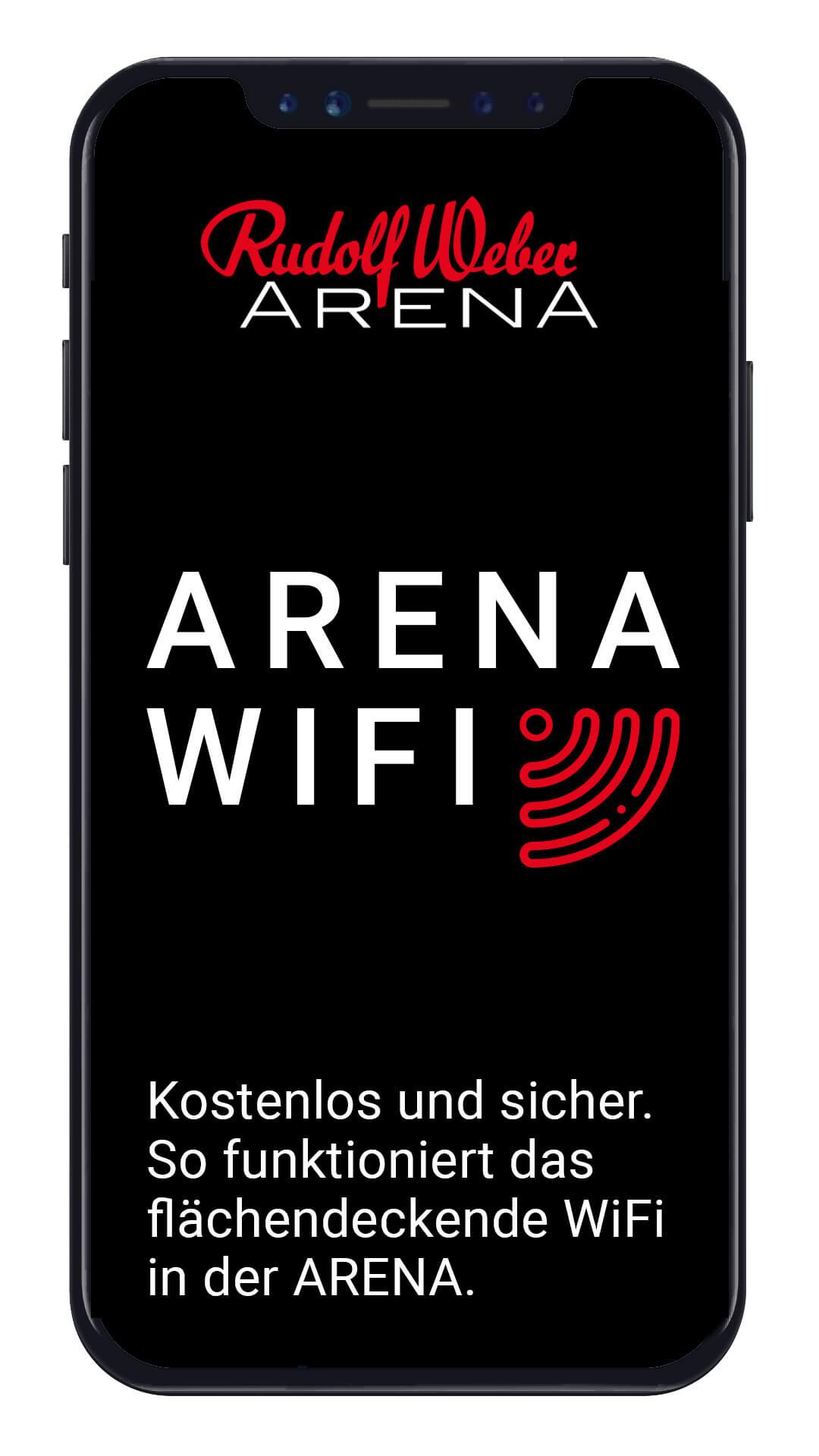 ARENA WiFi Login Portal