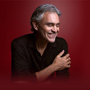 Porträt Andrea Bocelli