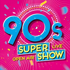 Die 90s SUPER SHOW kommt nach Oberhausen!